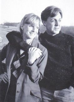 Linda Eastman-McCartney and Paul McCartney (All I know is I dream of having a Man as loving as Mr. McCartney. All I dream of....)