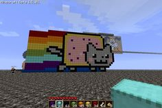 Cool Minecraft Creations | nyan_cat_pixel_minecraft_by_renimtsol-d3fyvot