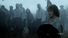 Confidence will be key in this battle. #Outlander #Starz #gif