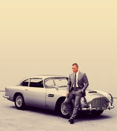 James Bond's Aston Martin from Skyfall - sporting the same BMT216A number plate that his car wore in Goldfinger.