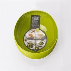 Saladeira e escorredor prep & serve grande verde Joseph & Joseph - CasaCanela