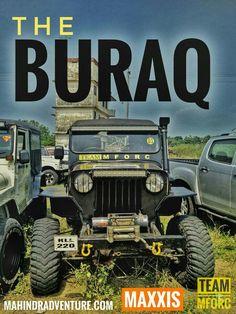 Mahindra Jeep CJ500 4x4 extreme off-roader - 'The BURAQ'