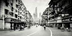Shanghai black-and-white by Martin Stavars