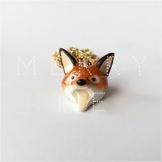 Baby Red Fox Necklace