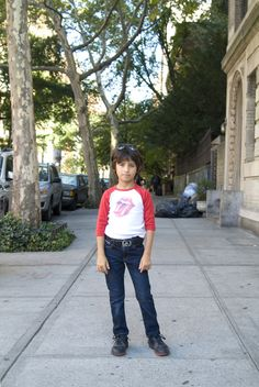 """<b>Kids fashion has come a long way since purple sweat suits...</b> These stylin' boys and girls represent the best and the brightest of the growing """"kid's fashion blog"""" scene."""