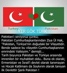 Şanlı Pakistan! #UluBozkurt