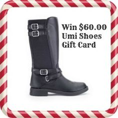 Last day to enter! Win a $60.00 Umi Shoes Gift Card!
