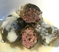 Grape Leaf Dolmades The Greek Way, www.goodfoodgourmet.com