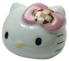 Kutani Yaki Table Figure Hello Kitty Ichimatsu