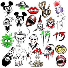 Its that time again. Friday the 13th!!! We will be opening our doors at 1:00. It is all first come first serve. Tattoos will be from this flash sheet only. All designs are $13 $7 tip. CASH ONLY. We will be taking only the first 40 people at the door. So come early to get your name on the list!!!!! - http://ift.tt/1HQJd81