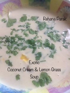 Exotic Coconut Cream & Lemon Grass Soup recipe by Rehana Parak posted on 05 Apr 2019 . Recipe has a rating of by 1 members and the recipe belongs in the Soups recipes category Creamed Mushrooms, Stuffed Mushrooms, Lemongrass Recipes, Peppermint Crisp, Good Food, Yummy Food, Fresh Cream, Food Categories, Coconut Cream