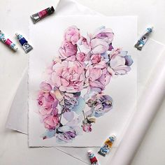 Watercolorist: @kadantsevanatalia  #waterblog #акварель #aquarelle #painting #drawing #art #artist #artwork #painting #illustration #watercolor #aquarela