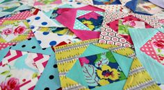Economy Blocks 4 by Saltwater Quilts, via Flickr