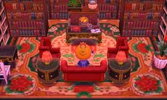 animal crossing new leaf cafe themed room - Google Search