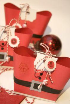 Scraptella: Bolsas navideÑas