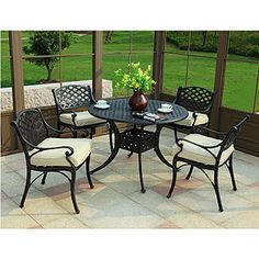 Can't beat classic wrought iron  From http://www.worldmarket.com/product/index.jsp?productId=11683451