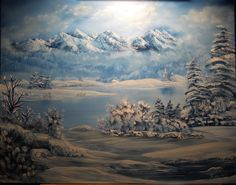 Cold Mountain, Oil on canvas Barb Savary, 2011