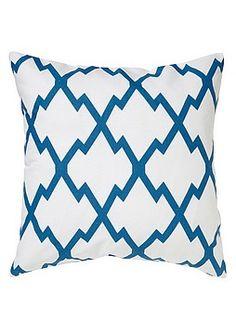 Sininen tai mustakuvioinen tyyny, Kodin1