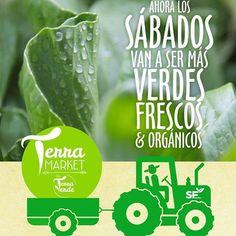 Te invitamos HOY a que conozcas el primer Terra Market, donde junto a @terraverderd te ofrecemos los vegetales más frescos y orgánicos. ¡Te esperamos hoy y todos los sábados de 9 am- 9pm! #SuperFreshMarket