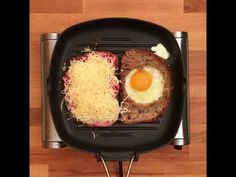 GastroHobbi I Extra szendvics Grill Pan, Grilling, Eggs, Breakfast, Food, Griddle Pan, Morning Coffee, Meal, Crickets