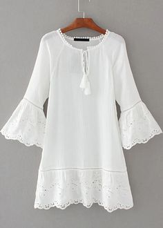 Bell Sleeve Dress|Disheefashion