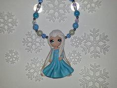 Frozen Elsa Necklace on Etsy, $20.99