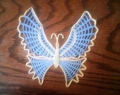 Ravelry: Butterfly Handkerchiefs pattern by The Spool Cotton Company.. Free pattern!
