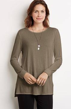 Redefined layering tee