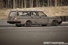Intercontimental Missile: Volvo V8 Wagon Of Fun | Speedhunters