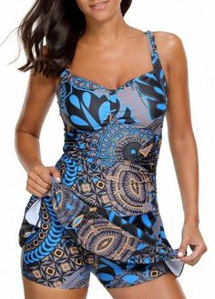 Get Urban Virgin One Piece Boy-leg Bathing Suit Printed Padded Ruched Swimdress Printed Bikini Swimsuits For Women at beachaccessoriesstore Plus Size Swimsuits, Women Swimsuits, Fashion Swimsuits, Vintage Swimsuits, Swimsuit Material, Petticoats, Swim Dress, Up Girl, Dress First