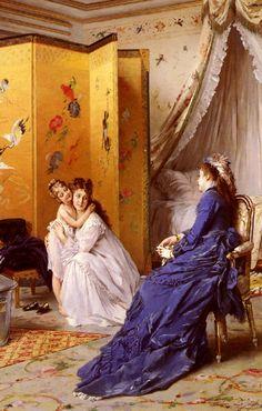 Apres Le Bain, Gustave Leonhard de Jonghe