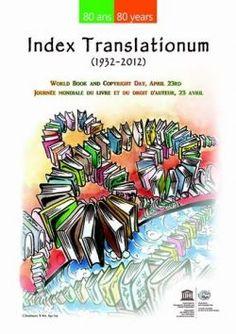 Cartel día del Libro y los Derechos de autor. 23 de abril.