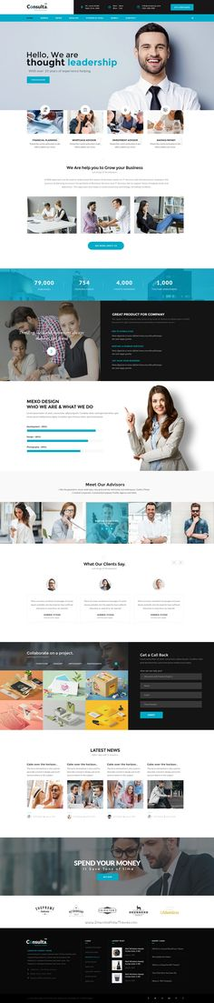 Consulta World is the Perfect #PSD template for #corporate #website like Financial Advisor, Accountant, Consulting Firms etc with 11+ stunning homepage layouts download now➯ https://themeforest.net/item/consulta-multipurpose-business-financial-psd-template-/16828542?ref=Datasata
