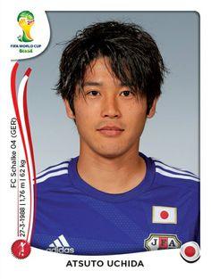 246 Atsuto Uchida - Japón - MUNDIAL BRASIL 2014