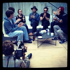 With our new friends Dustin + Alma. #VyRTtheMARSLab http://instagr.am/p/J8gqrTAPhp/