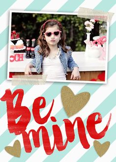 INSTANT DOWNLOAD ♥ A fun way to send photos to grandparents & extended family for Valentines!♥  These catchy designs can be used for social