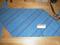 tuunaus, tilkku ja tyyny: poppanakuteen / vinonauhan leikkaus -ohje