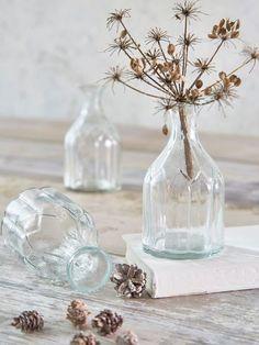 Small Retro Glass Vases