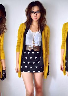 makes me miss my mustard colored cardigan. rip.