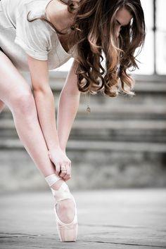 light brown curls