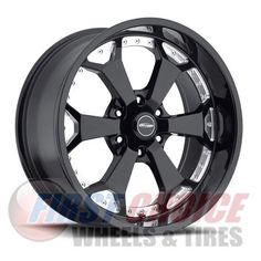 Series 8180 with 6 on 135 Bolt Pattern Gloss Black Machined Pro Comp Alloy Wheels Black And Chrome Rims, Pro Comp, Truck Covers, 4x4 Accessories, Custom Truck Parts, Pc Components, Lift Kits, Jeep Truck, Wheels And Tires