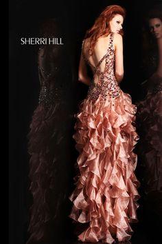 Sherri Hill - Prom Dresses.  #layersofruffles