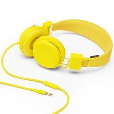 Amarillo ❤ Yellow ♡♡♡ UrbanEars Plattan On-Ear Headphones Lemon Yellow, Orange Yellow, Color Yellow, Yellow Theme, Pastel Yellow, Bright Yellow, Yellow Roses, Trini Kwan, Cute Headphones
