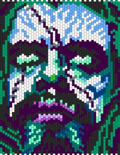Rob Zombie bead pattern