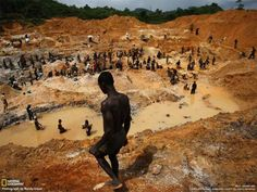 West Africa gold mining sml