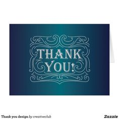 Thank you design #thankyou #thankyoucard #greetingcard