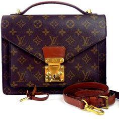 Louis Vuitton Monceau Brown Bag - Satchel $525