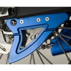 GYTR Billet Rear Disc Guard - Blue | MotoSport