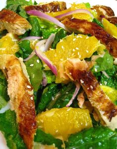 Asian Chicken Salad With Orange Vinaigrette