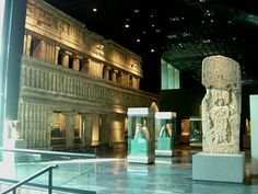 Inside National Museum of Anthropology and History - Maya Room, Mexico City